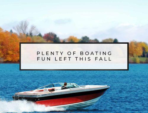 Plenty of boating fun left this fall